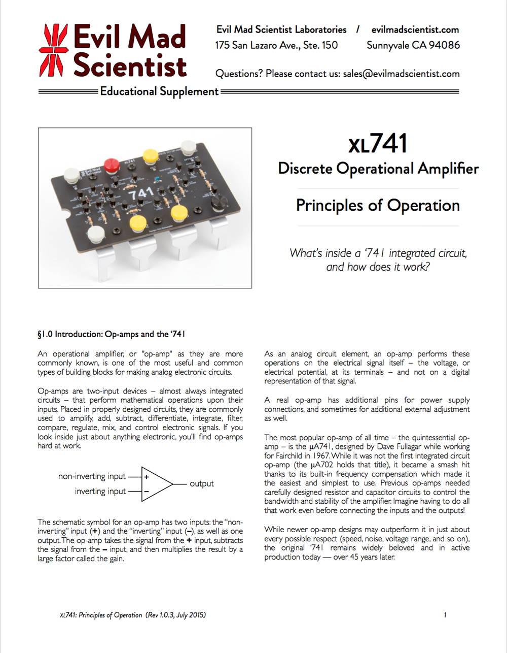 hight resolution of xl741 documentation pdf