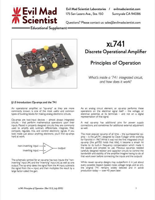 small resolution of xl741 documentation pdf