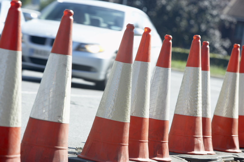 What is the construction zone speed limit in BC?