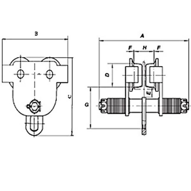 Jet SBT Series Manual Trolley