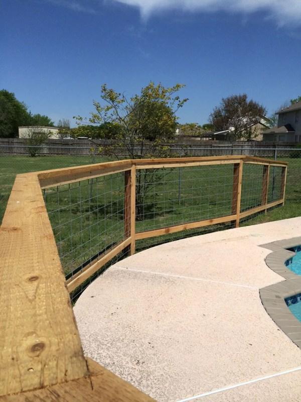 Decorative Cattle Panel . Fence