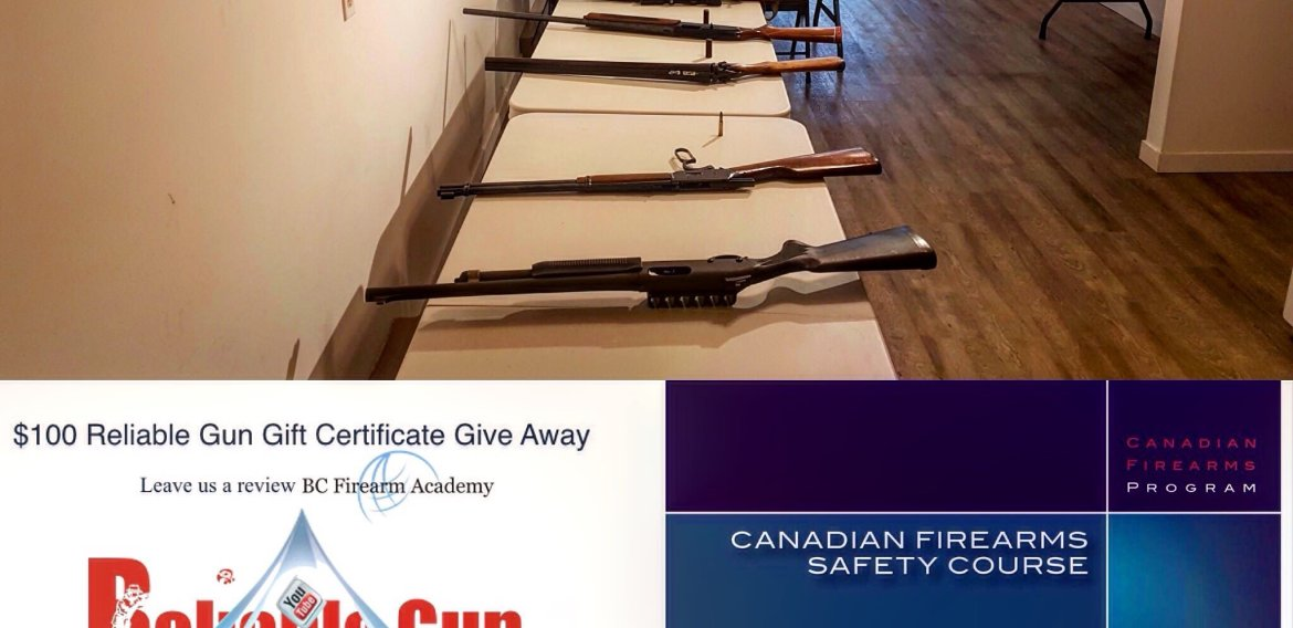 Join BC Firearms Academy this weekend for a Non-restricted CFSC & Restricted CRFSC firearms safety course.