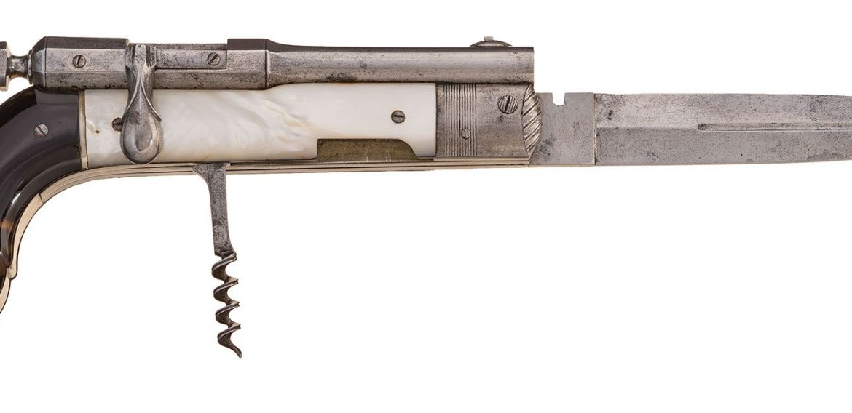 Forgotten WeaponsParisian Needlefire Knife-Pistol Combination