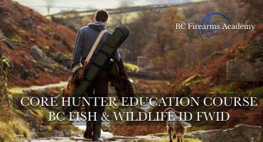 CORE Hunter Education Course BC Fish & Wildlife ID FWID Abby Jan 13/14 This CORE Hunter Education Course is completed over 1 or 2 days from 9:30 am to 4 pm.