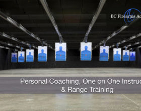 Personal Coaching, One on One Instruction & Range Training Nov 18
