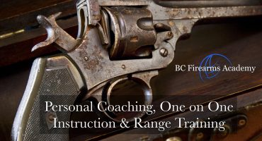 Personal Coaching, One on One Instruction & Range Training Aug 20