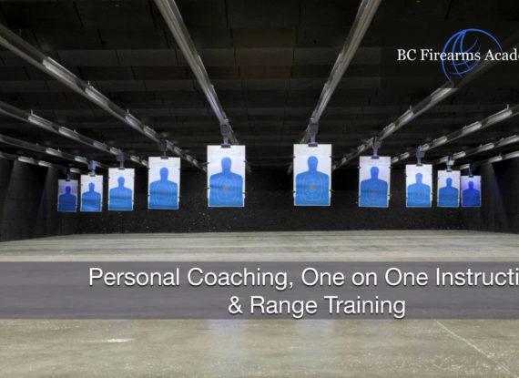 Personal Coaching, One on One Instruction & Range Training Nov 19