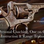 Personal Coaching, One on One Instruction & Range Training