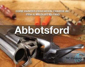 CORE Hunter Education Course BC Fish & Wildlife ID FWID Abby Nov 16