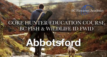 CORE Hunter Education Course BC Fish & Wildlife ID FWID Abby Nov 11