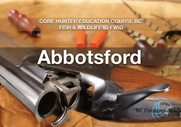 CORE Hunter Education Course BC Fish & Wildlife ID FWID Abby Jan 12