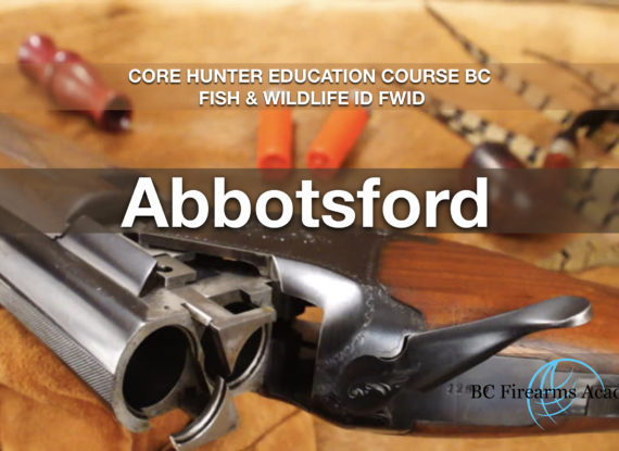 CORE Hunter Education Course BC Fish & Wildlife ID FWID Abby May 25
