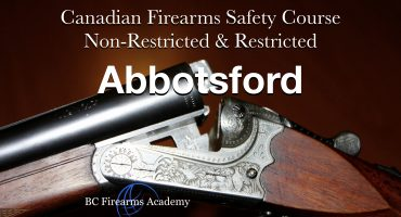 CFSC/CRFSC – Canadian Firearms Safety Course & Canadian Restricted Firearms Safety Course Dec 29/30