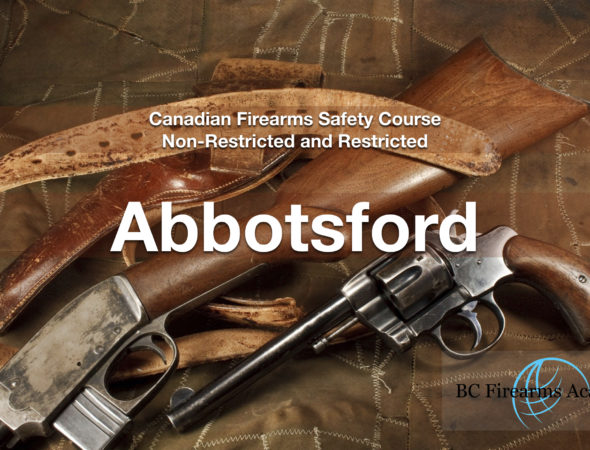CFSC/CRFSC – Canadian Firearms Safety Course & Canadian Restricted Firearms Safety Course Sep 27/28