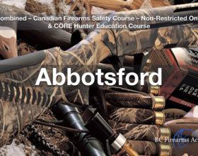 CFSC & CORE – Non Restricted Firearms License & CORE Hunter Education Abby Nov 15/16