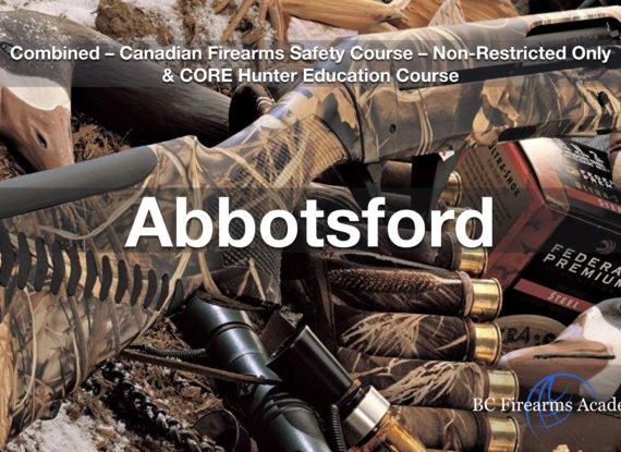 CFSC & CORE – Non Restricted Firearms License & CORE Hunter Education Abby June 9/10