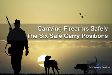 Carrying Firearms Safely – The Six Safe Carry Positions