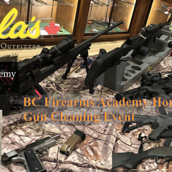 BC Firearms AcademyHometown HeroesGun Cleaning Event Followup