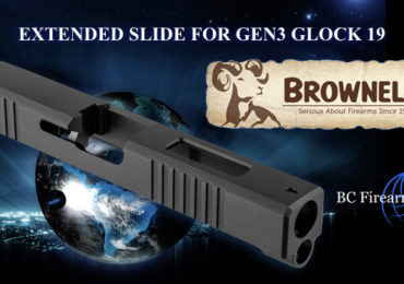 Brownells Glock 17 Length Slides for Glock 19 Pistols