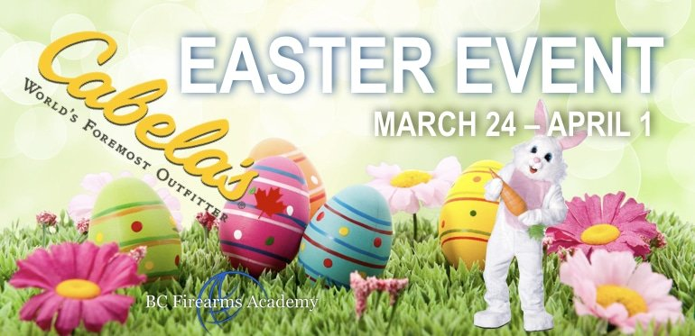 Cabela's EASTER EVENT March 24 to April 1