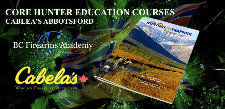 CORE Hunter Education at Cabelas Abbotsford