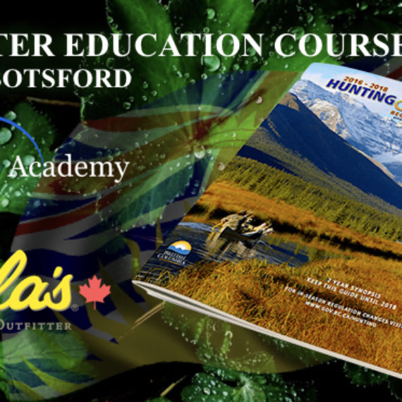 CORE Hunter Education at Cabelas Abbotsford