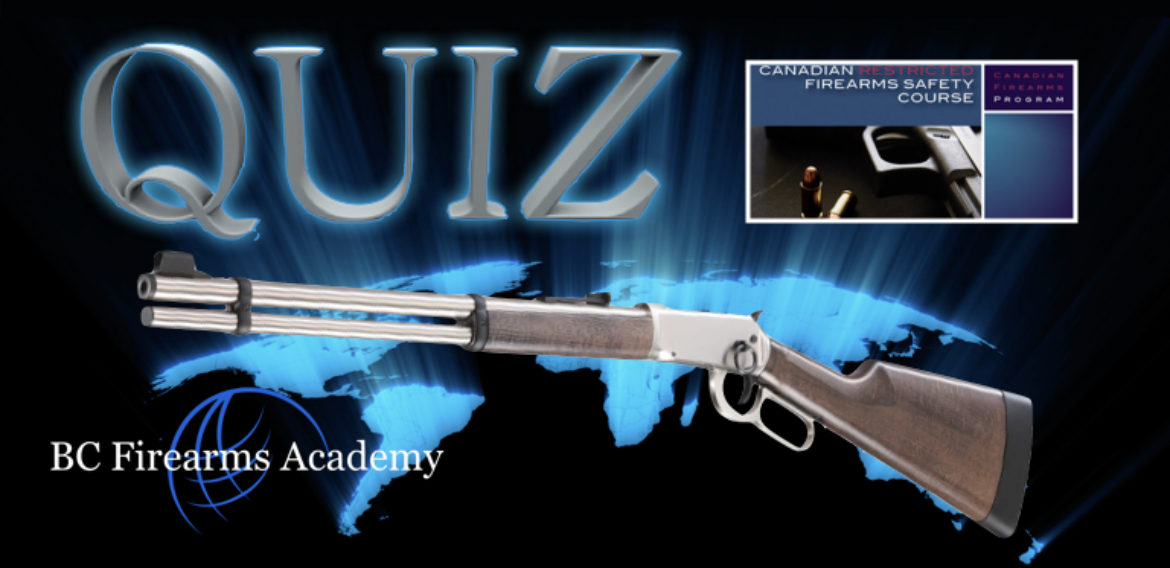 PAL Course & Firearms Safety Practice Quiz Free