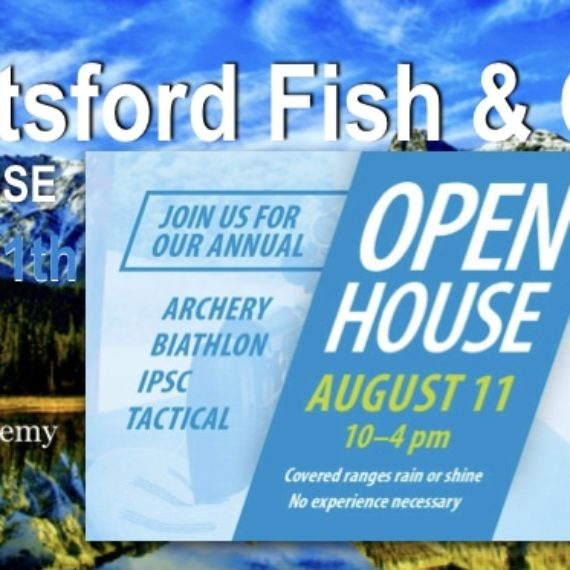 Abbotsford Fish and Game Club Open House 2018