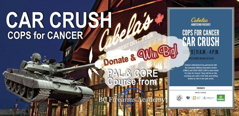 Cops for Cancer: Car Crush 2018 Update