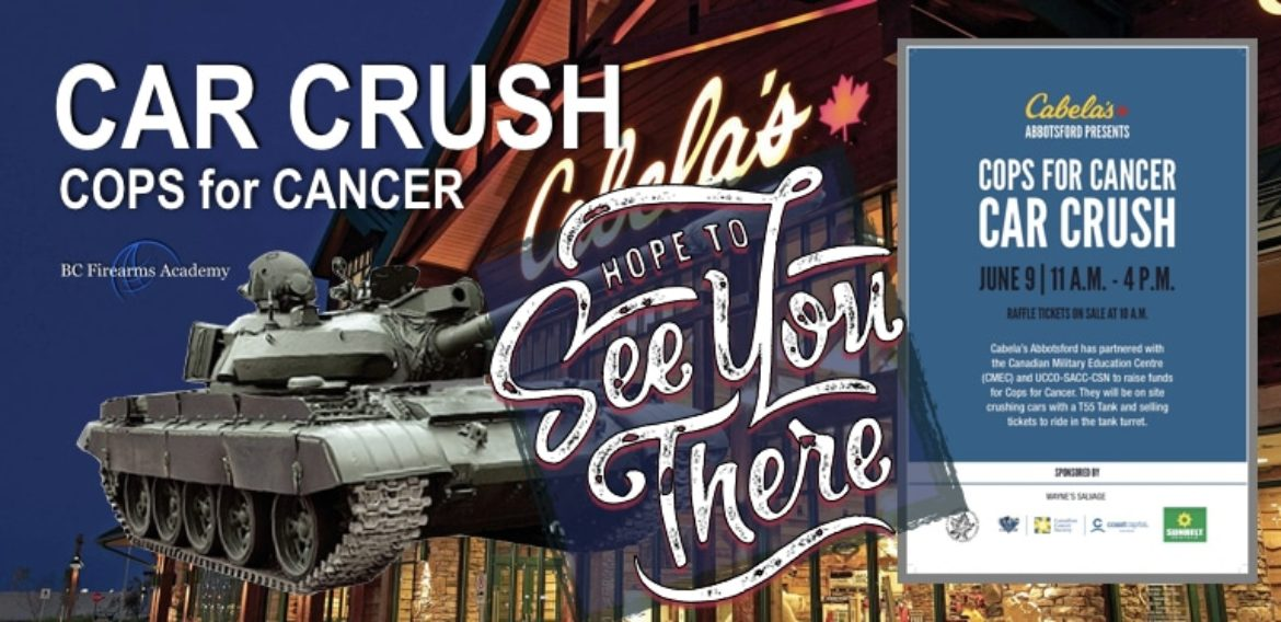 COPS for CANCER Car Crush – Event in Review