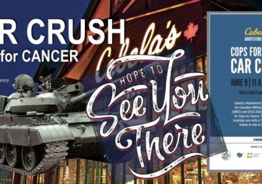 Cops for Cancer Car Crush CONTEST UPDATE 2018