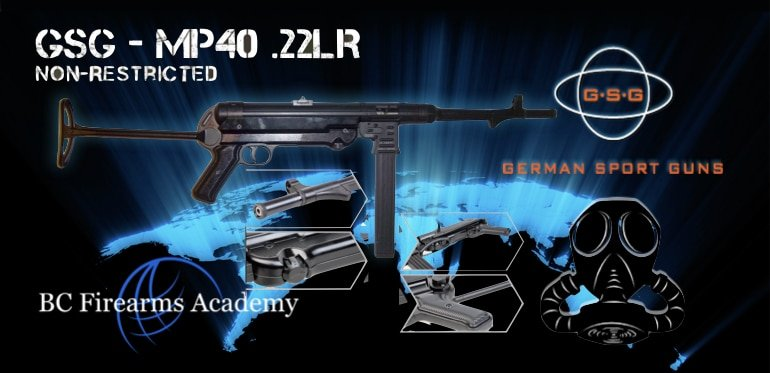 GSG-MP40 .22lr Non Restricted Preorder