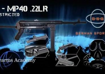 GSG-MP40 .22lr Non Restricted Preorder
