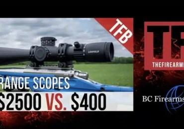 Long Range Scope Test – $2500 VS.$400