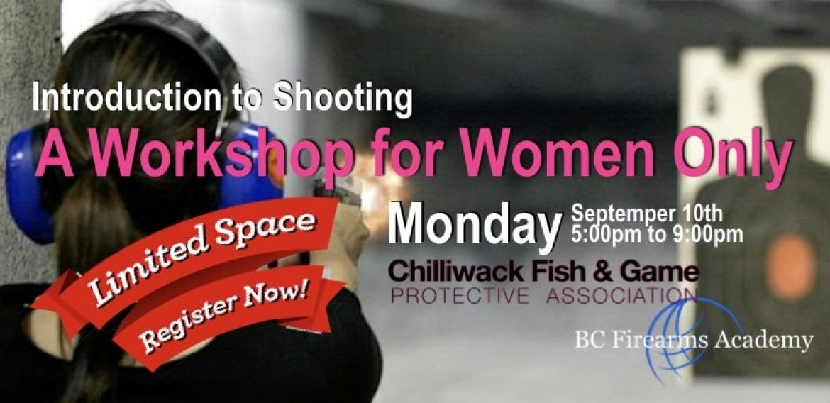 Almost Full – Introduction to Shooting a Workshop for Women Only