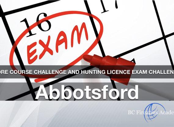 CORE CHALLENGE Hunting License Exam Challenge Abbotsford Fri Mar 22