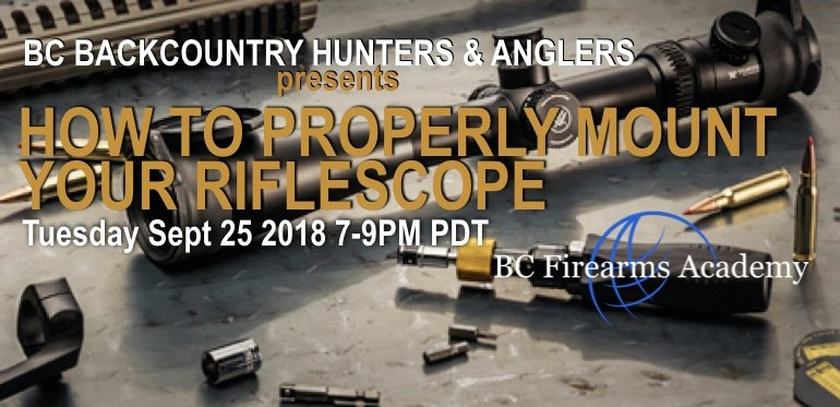 How To Properly Mount Your Riflescope with Backcountry Hunters & Anglers