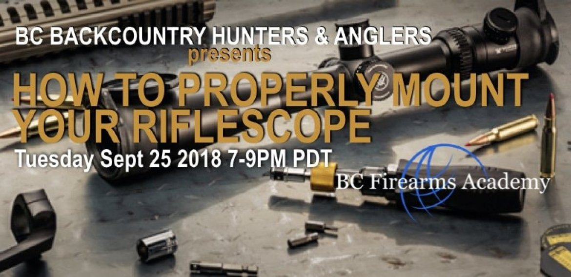 How To Properly Mount Your Riflescope withBackcountry Hunters & Anglers