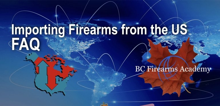 Importing Firearms from the US FAQ