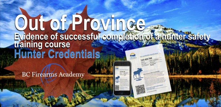 Transferring out of province hunter courses to BC. Do I need to take the CORE to get an FWID?