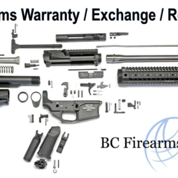 Firearms Warranty / Exchange / Repair In Canada