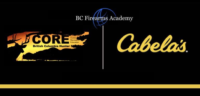 CORE Tests, CORE Exams and CORE Hunter Education Course Challenges at the Cabela's Abbotsford