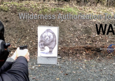 Using a Firearm for Wilderness ProtectionWATC December 2018