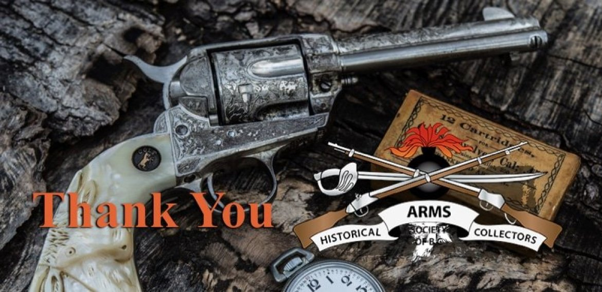 Thank You Historical Arms Society from BC Firearms Academy