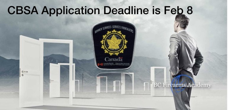 Deadline for CBSA applications is Coming!