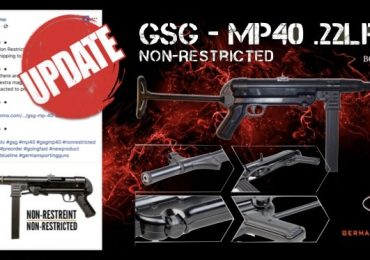 GSG MP-40 22lr UPDATE Shipping to  Customers March 04 2019