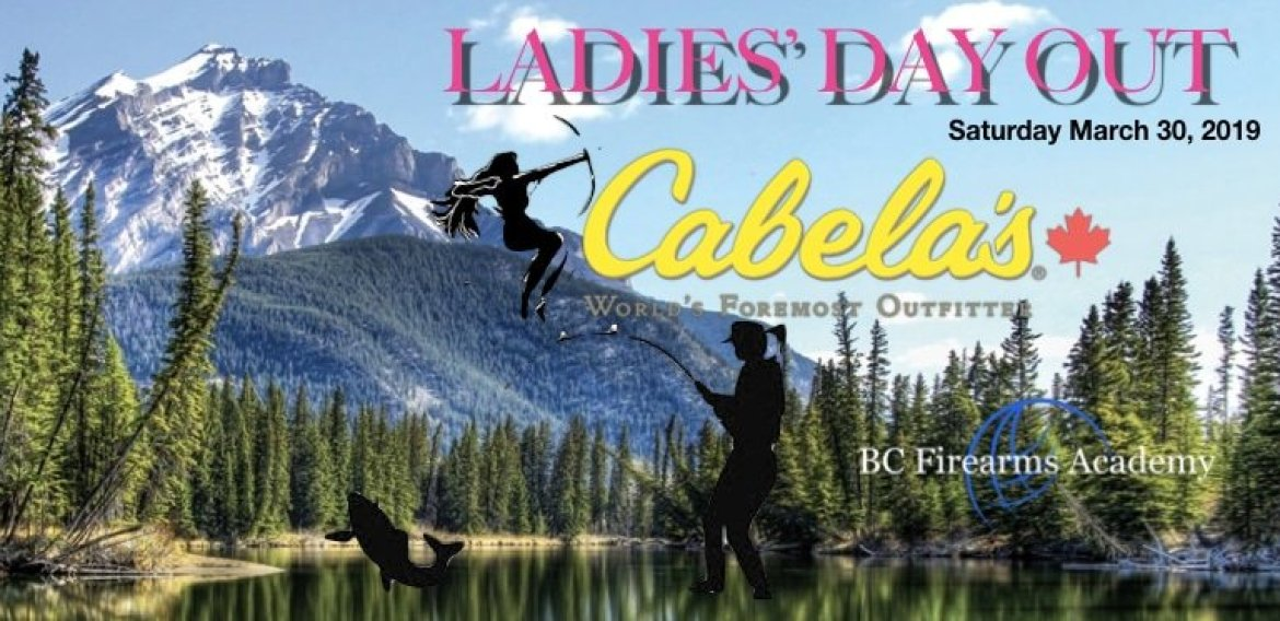 Ladies' Day Out! At Cabela's
