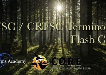 CFSC / CRFSC Terminology Flash Cards