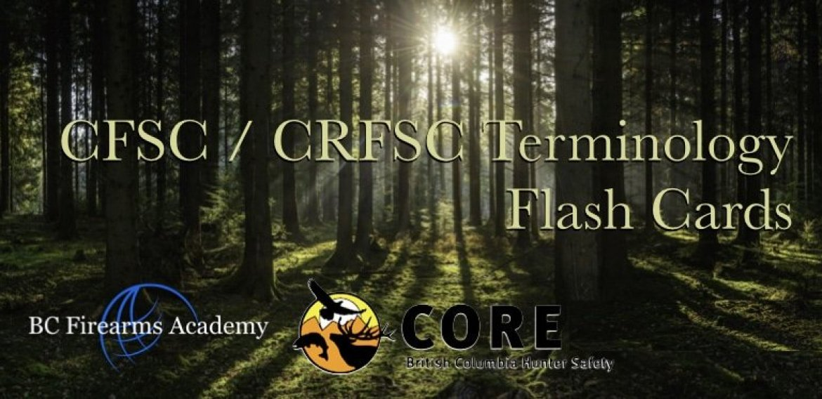 CFSC / CRFSC Terminology Flash Cards
