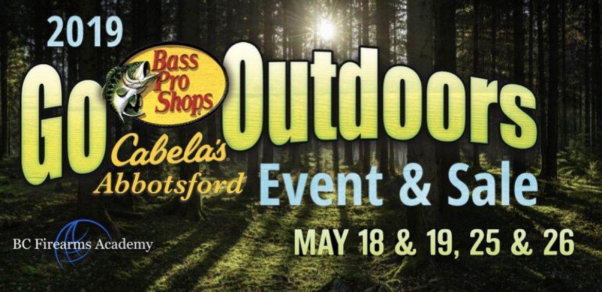 Go Outdoors Family Event at Cabela's Abbotsford 2019